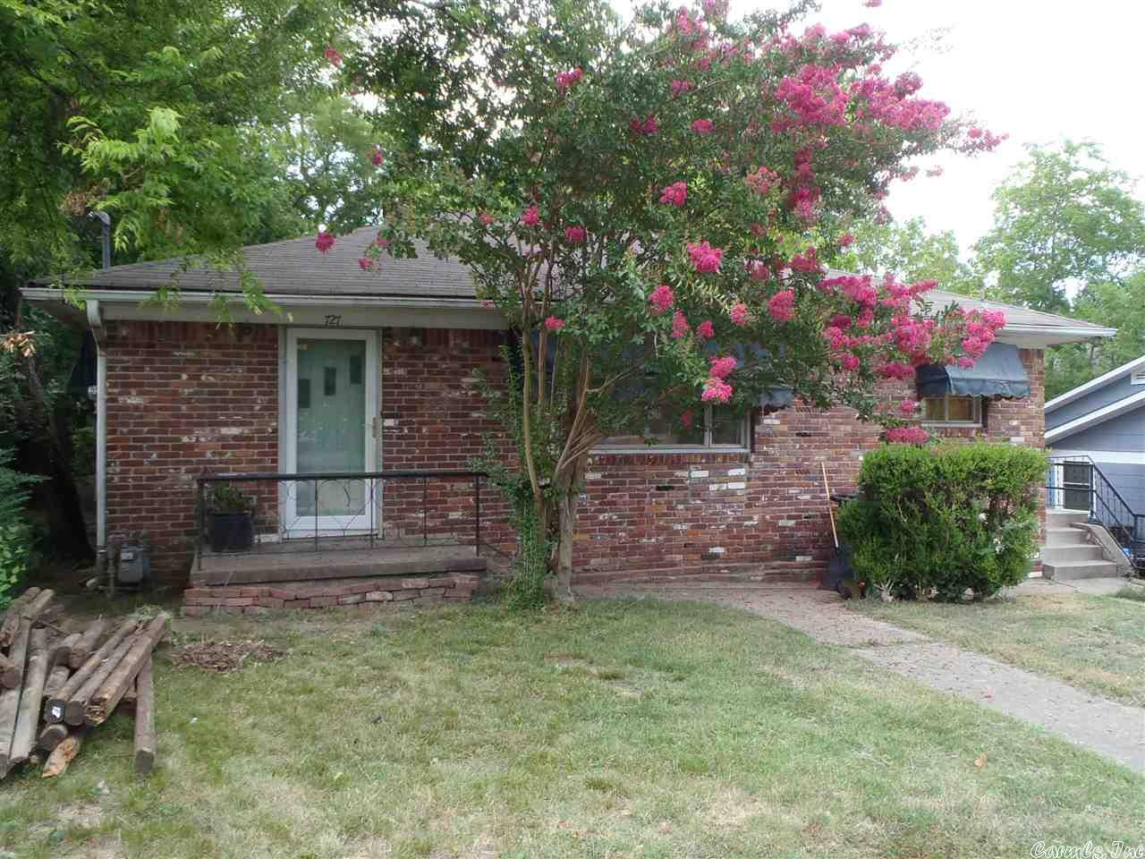 Home For Sale At 727 Linwood In Hot Springs Ar For 47500