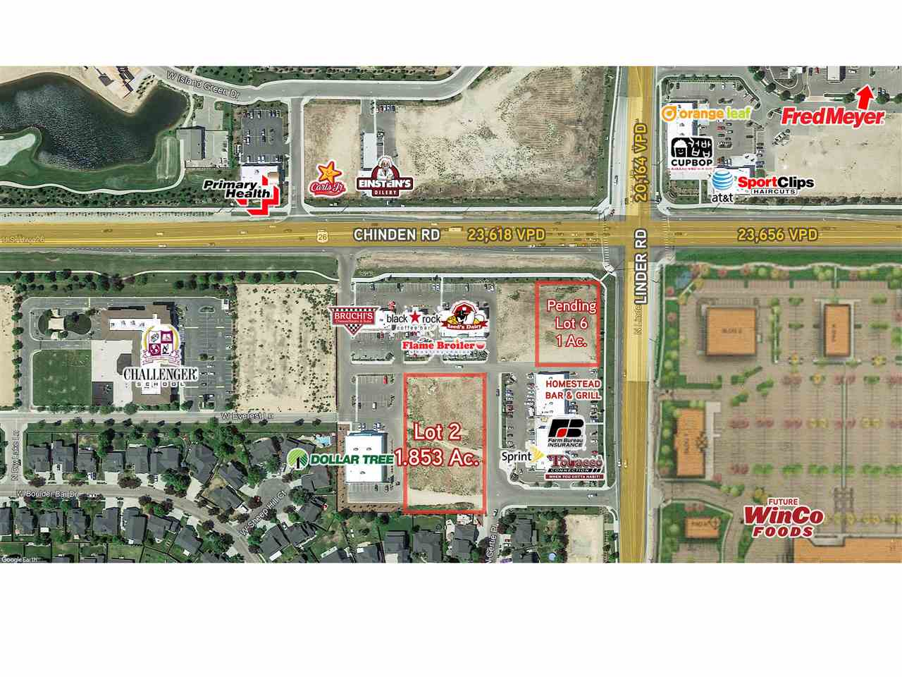 Commercial for Sale at Linder & Chinden Meridian, Idaho 83646
