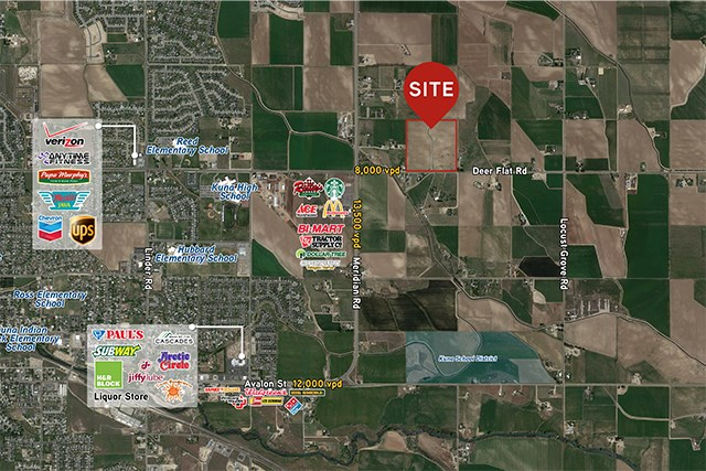 Land for Sale at 0 E Deer Flat Kuna, Idaho 83634