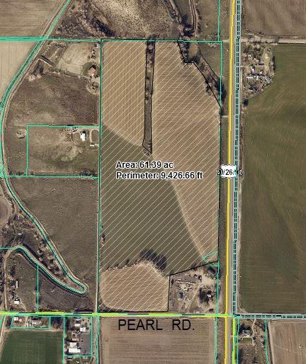 Chacra / Estancia por un Venta en Part Of NW Cor Hwy 95 & Pearl Rd Parma, Idaho 83660