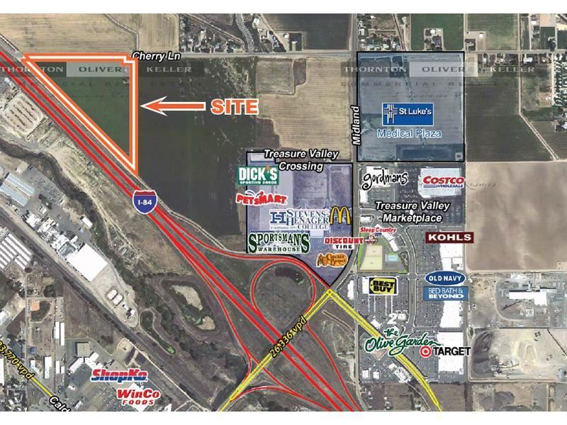 Land for Sale at Tbd W Cherry Lane Nampa, Idaho 83651