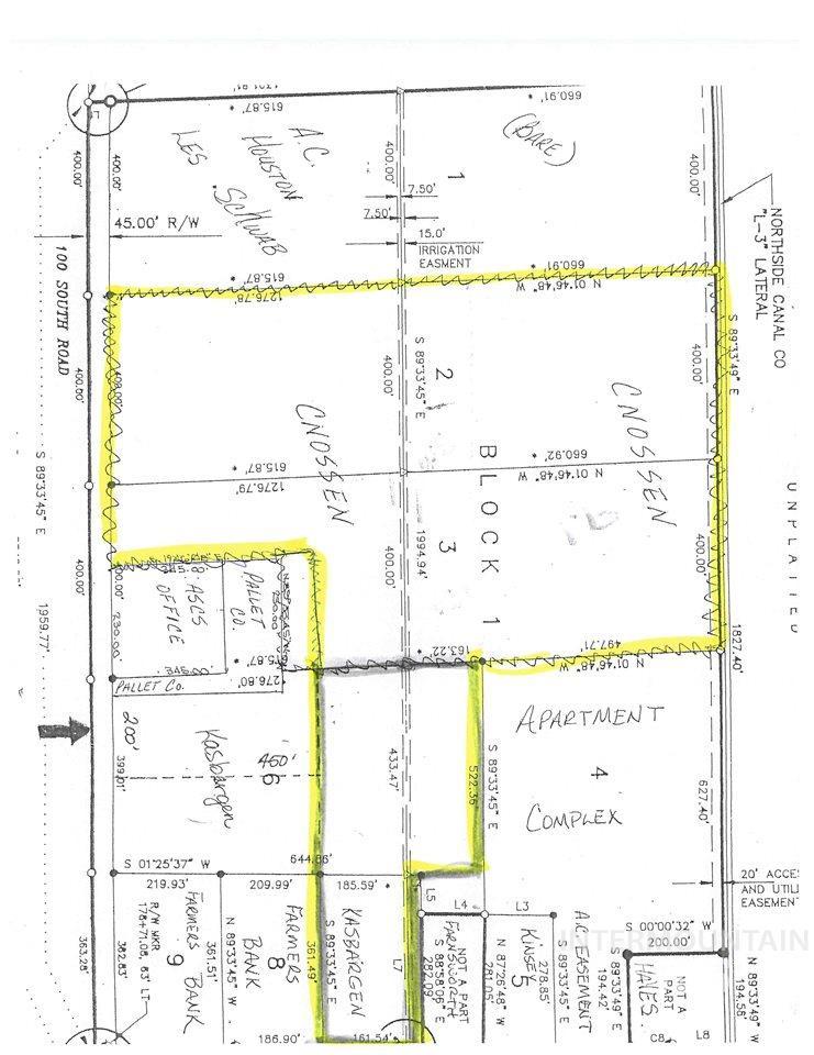 Terreno por un Venta en Lot 3 Blk 1 South Lincoln Business Park Jerome, Idaho 83338