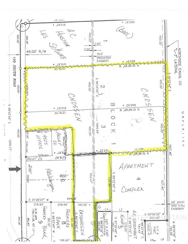 Terreno por un Venta en Lot 2 /3 Blk 1a South Lincoln Business Park Jerome, Idaho 83338