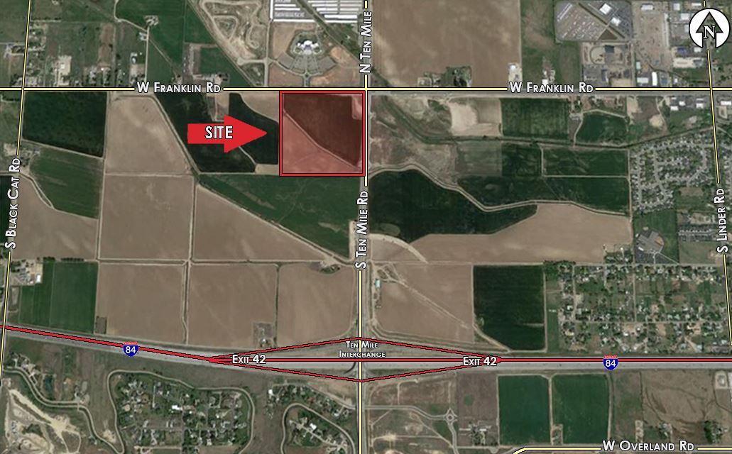 Land for Sale at 75 S Ten Mile Meridian, Idaho 83642