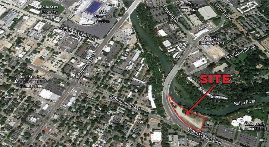 Land for Sale at 444 W Parkcenter Boulevard Boise, Idaho 83706