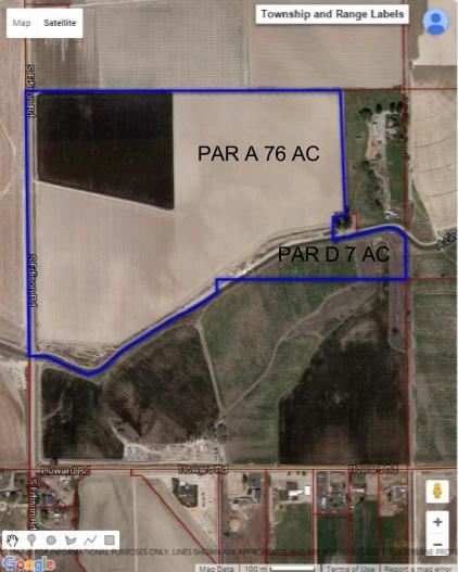 Land for Sale at 0 Edison Marsing, Idaho 83639