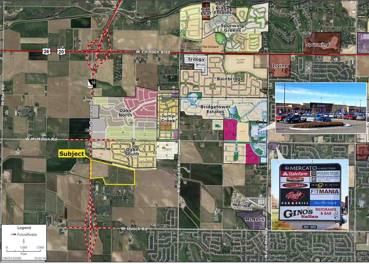 Land for Sale at 0 Mcdermott Road Meridian, Idaho 83646