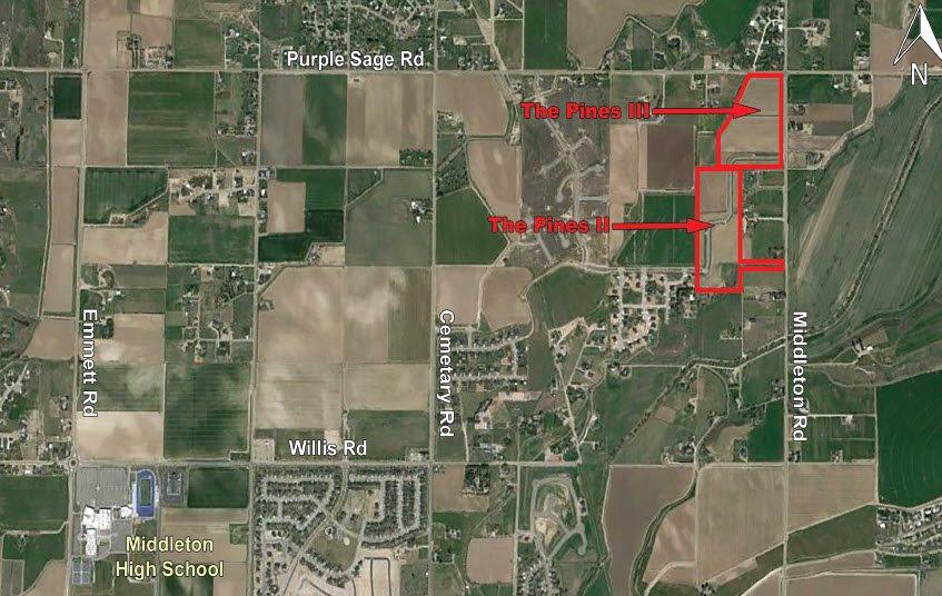 Land for Sale at Tbd Middleton Road Middleton, Idaho 83644