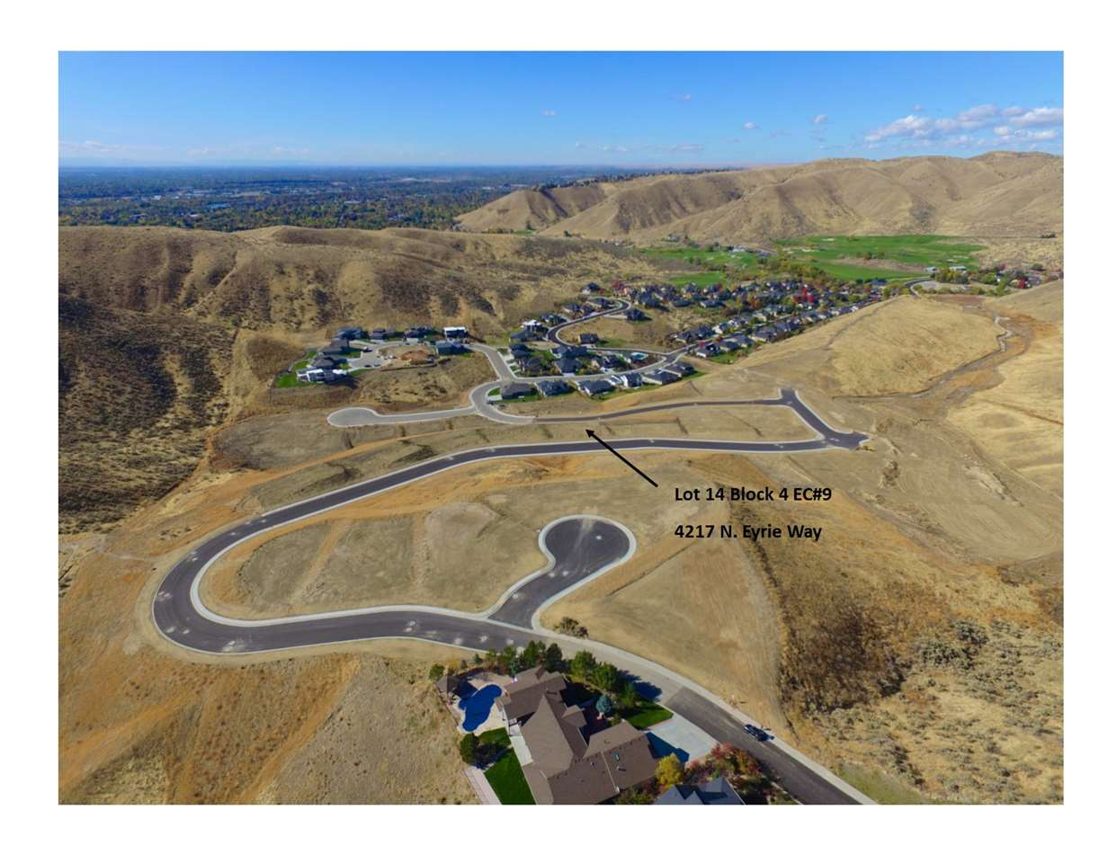 Lot 14 Block 4 Eyrie Canyon #9, Boise, ID 83703