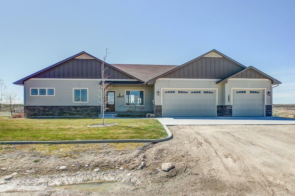 Casa Unifamiliar por un Venta en 3885 Vista Ridge Lane 3885 Vista Ridge Lane New Plymouth, Idaho 83655