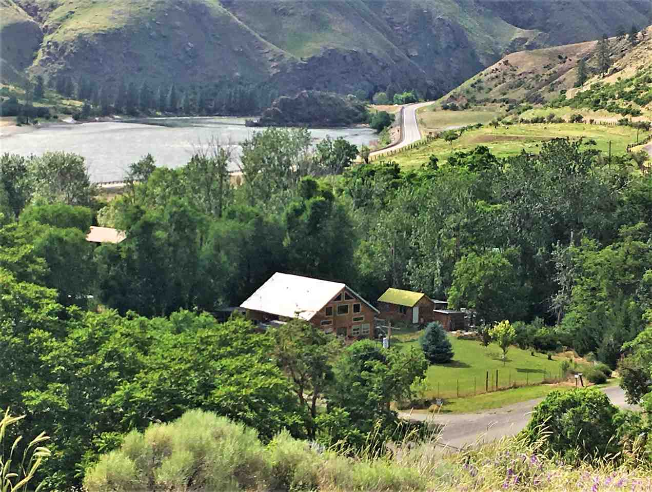 Single Family Home for Sale at 214 Slate Creek Road 214 Slate Creek Road White Bird, Idaho 83554
