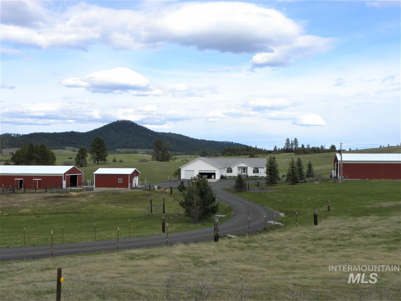 Single Family Home for Sale at 1300 Ailor Road 1300 Ailor Road Deary, Idaho 83823