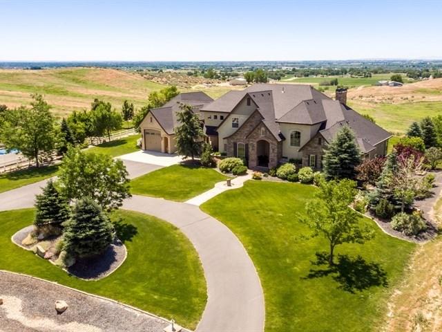 Casa Unifamiliar por un Venta en 10325 W Lanktree Gulch Road 10325 W Lanktree Gulch Road Star, Idaho 83669