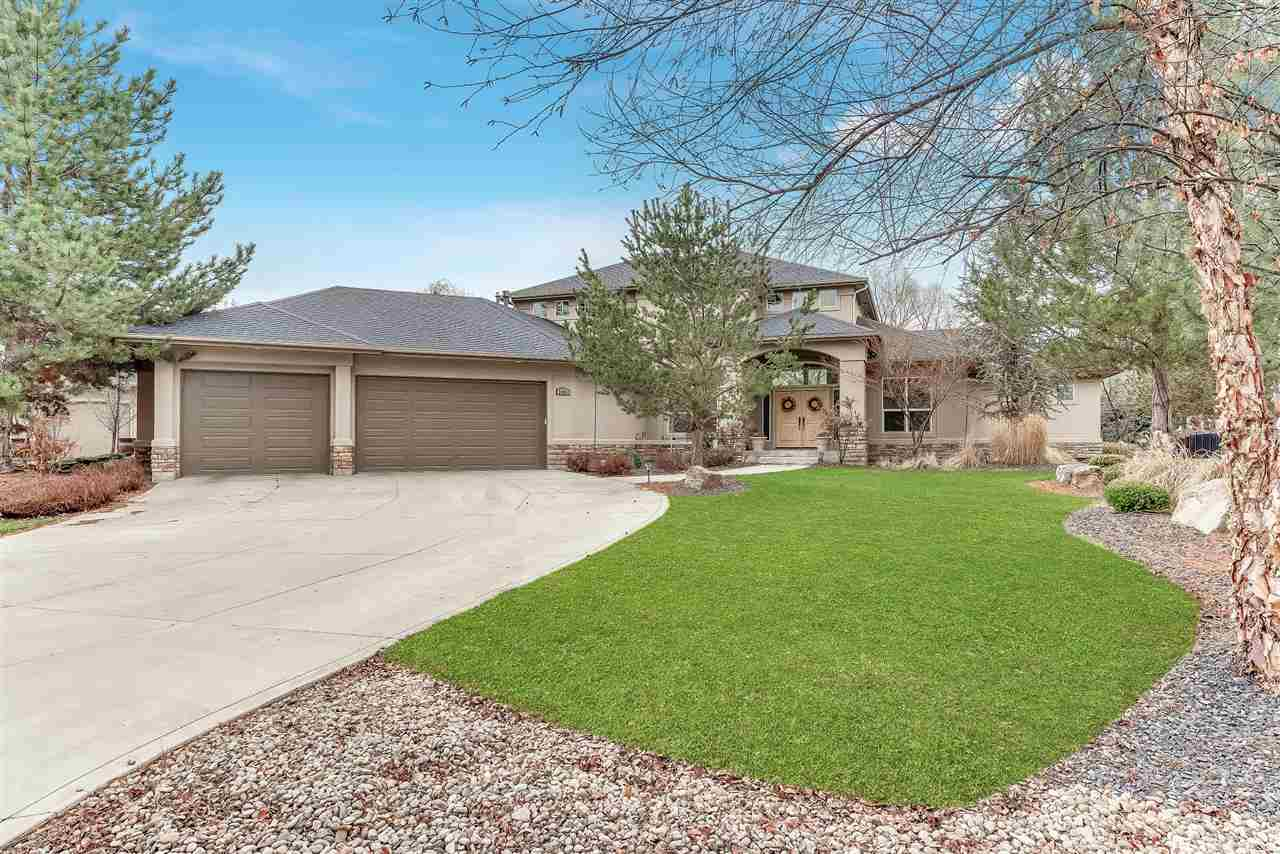 Single Family Home for Sale at 9395 W Pandion Ct. Garden City, Idaho 83714