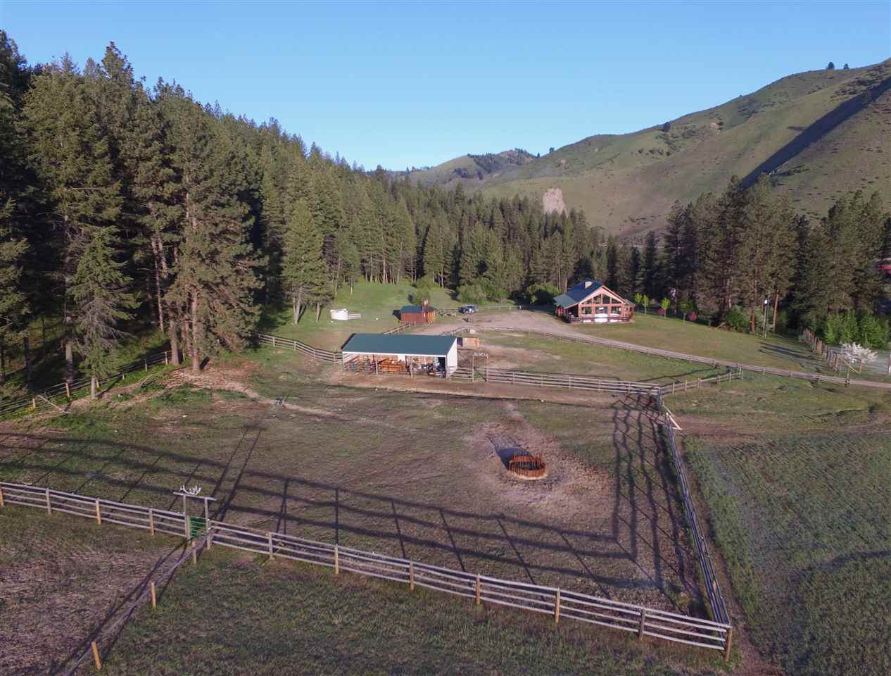 Ranch for Sale at 215 Rob's Cabin Road 215 Rob's Cabin Road Garden Valley, Idaho 83622