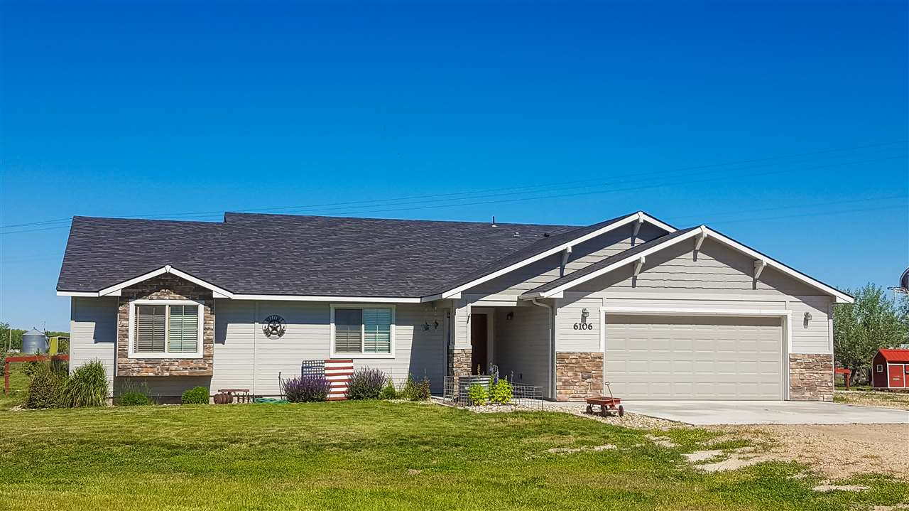 Single Family Home for Sale at 6106 Hwy 52 New Plymouth, Idaho 83655