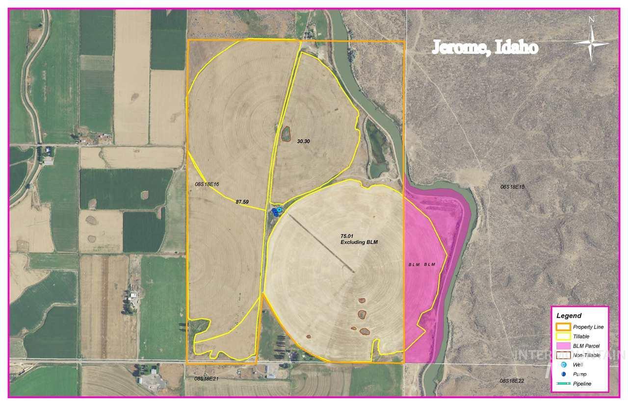 Farm for Sale at 800 E 06 S Jerome, Idaho 83338