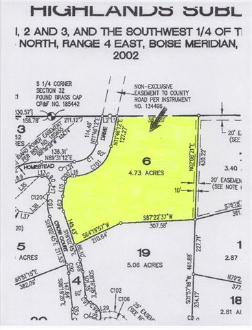 Lot 6 Forest Highlands, Boise, ID 83716