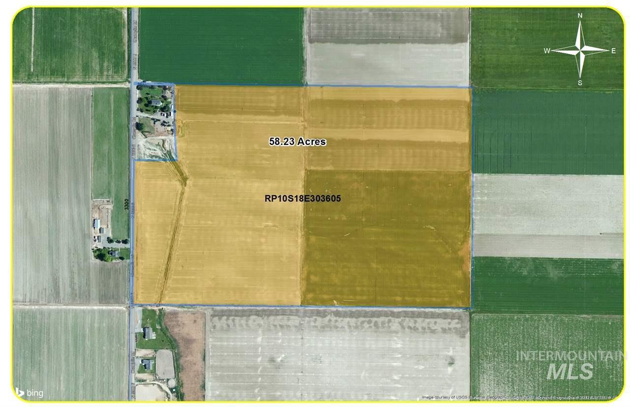 Granja por un Venta en TBD 58 Acres 3300 E TBD 58 Acres 3300 E Kimberly, Idaho 83341