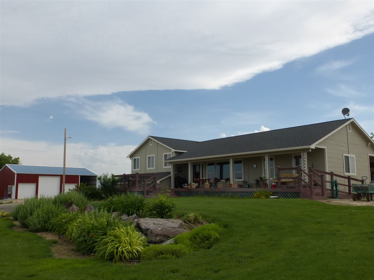 Granja por un Venta en 1552 S Sanctuary Lane 1552 S Sanctuary Lane Homedale, Idaho 83628
