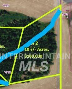 Agricultural Land 为 销售 在 Big Meadow Rd (Lot 2) Big Meadow Rd (Lot 2) Troy, 爱达荷州 83871