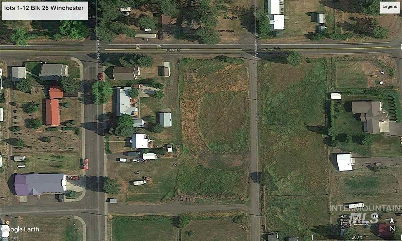 lots 1-6 blk 25 lots 7-12 blk 25, Winchester, ID 83555