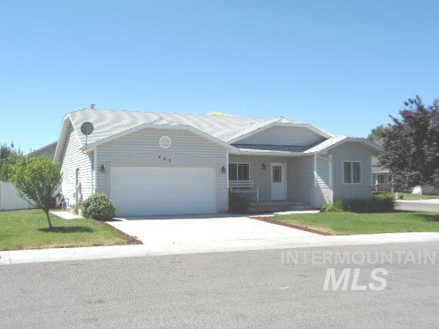 Single Family Home for Sale at 245 Cottonwood 245 Cottonwood Hansen, Idaho 83334