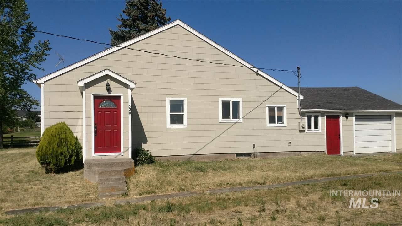 Single Family Home for Sale at 520 2nd Street 520 2nd Street Cottonwood, Idaho 83522