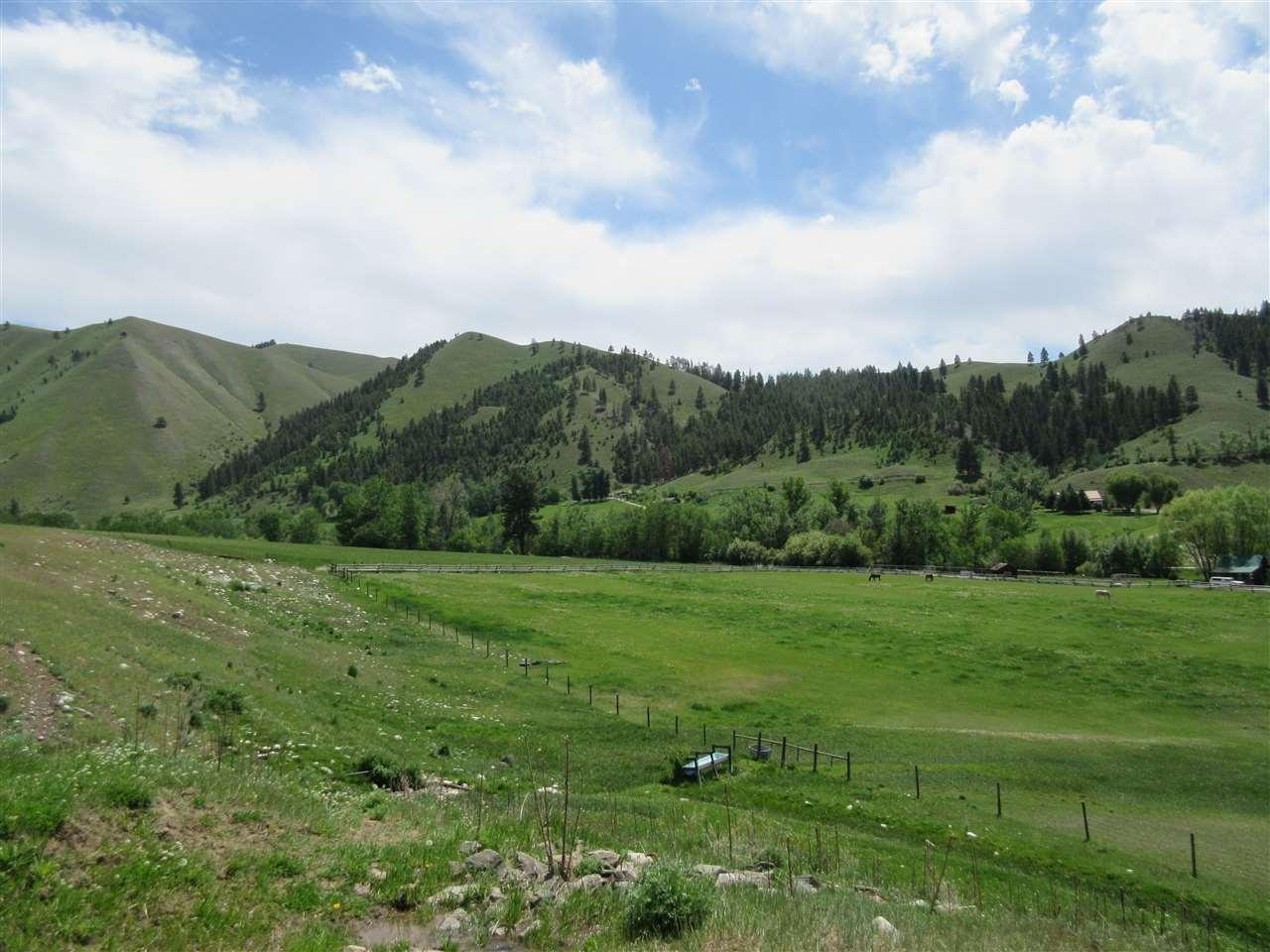 Agricultural Land por un Venta en Fourth of July Creek Road Fourth of July Creek Road North Fork, Idaho 83466