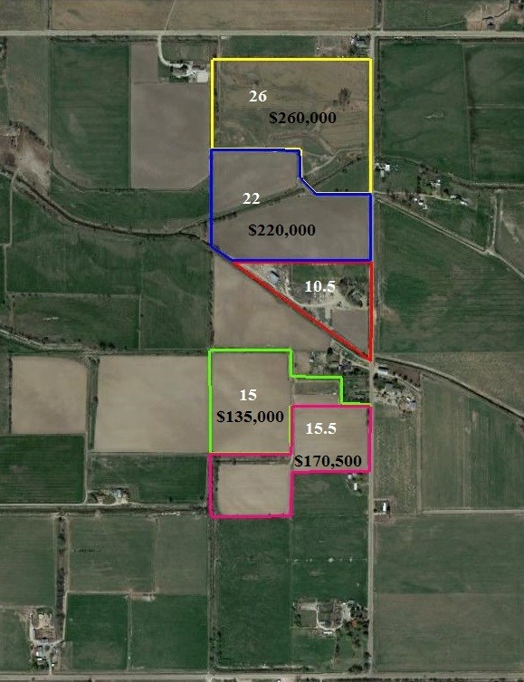Land for Sale at Centerpoint Centerpoint Notus, Idaho 83607