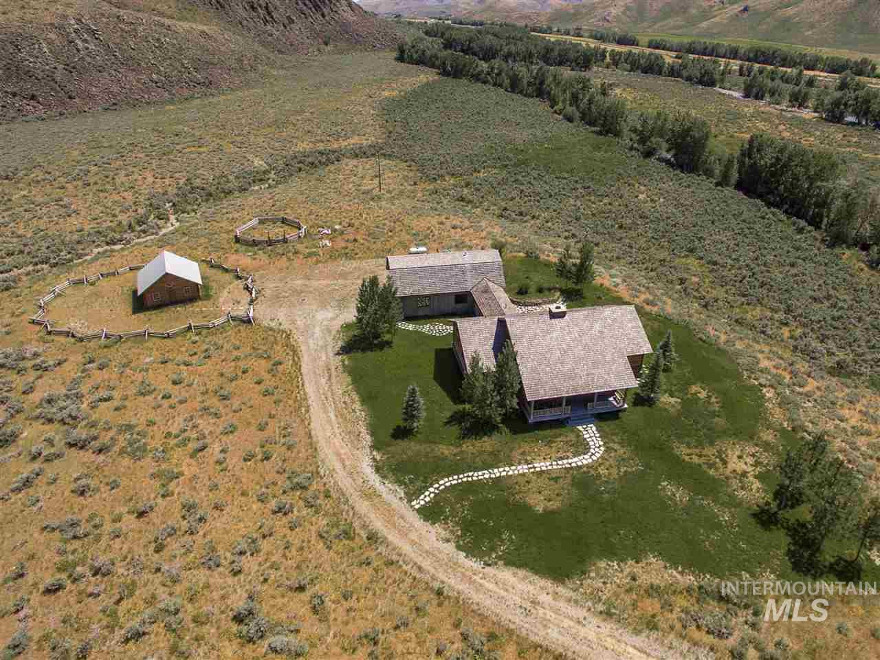 Ranch for Sale at 600 Little Wood Resv. Road 600 Little Wood Resv. Road Carey, Idaho 83320