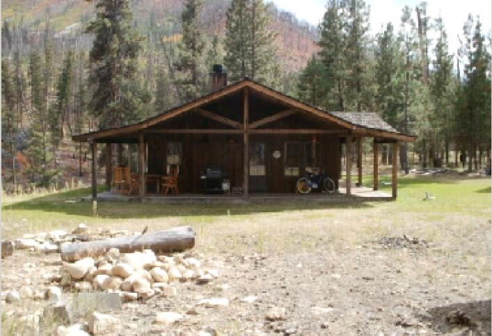 Casa Unifamiliar por un Venta en 32 Pistol Creek Ranch 32 Pistol Creek Ranch Cascade, Idaho 83622
