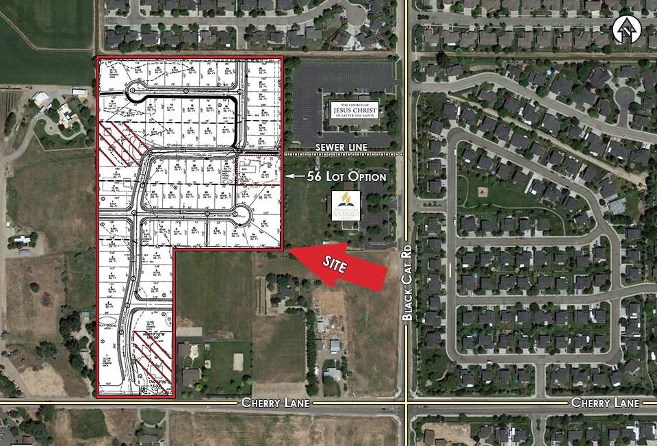 Development for Sale at 1923,1947 & TBD N Black Cat Road 1923,1947 & TBD N Black Cat Road Meridian, Idaho 83646
