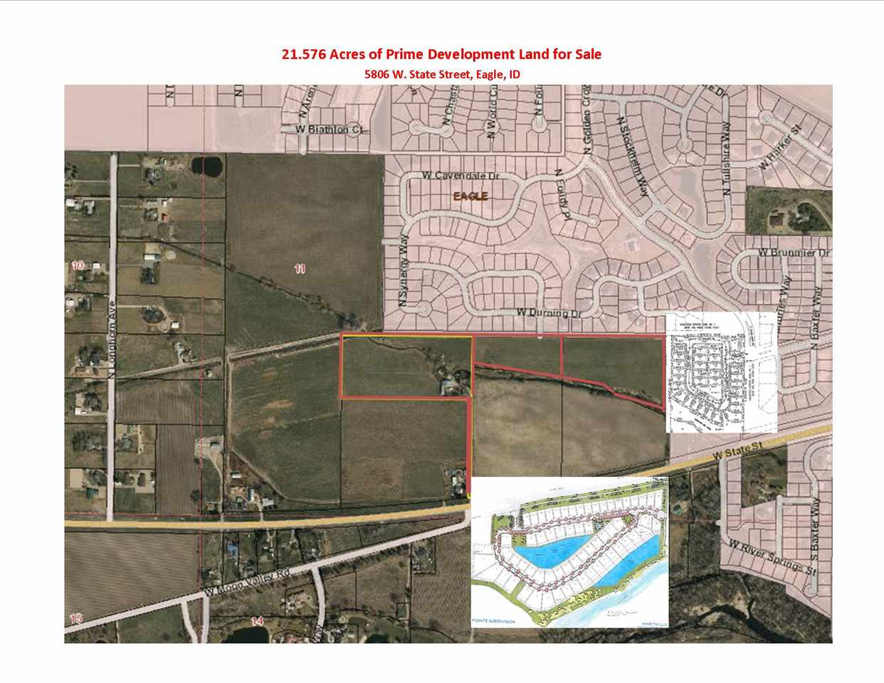 Development for Sale at 5806 W State Street 5806 W State Street Eagle, Idaho 83616