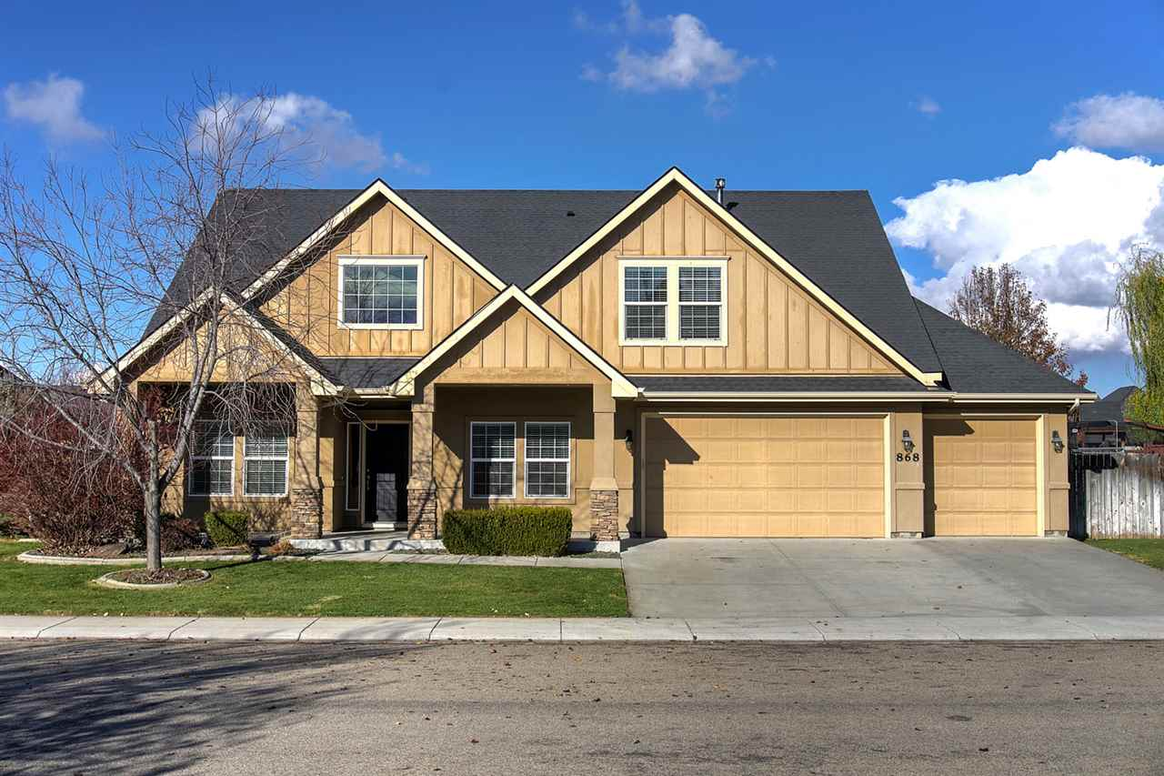 868 W Anton, Meridian, Idaho 83646, 4 Bedrooms, 2.5 Bathrooms, Rental For Rent, Price $1,995, 98677245