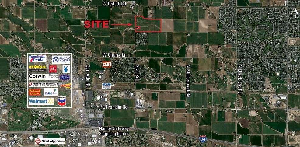 Development por un Venta en TBD Star Road TBD Star Road Nampa, Idaho 83687