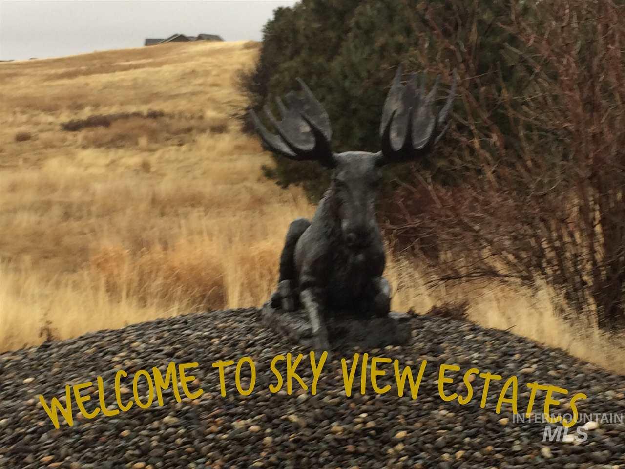 TBD Sky View Loop Lot 17,Moscow,Idaho 83843,Land,TBD Sky View Loop Lot 17,98679393
