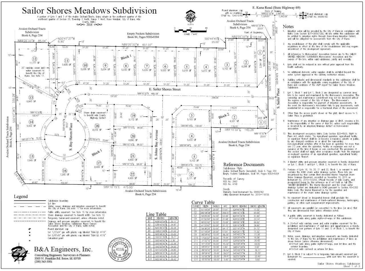 1108 E. Sailer Shores Way,Kuna,Idaho 83634,Land,1108 E. Sailer Shores Way,98679644