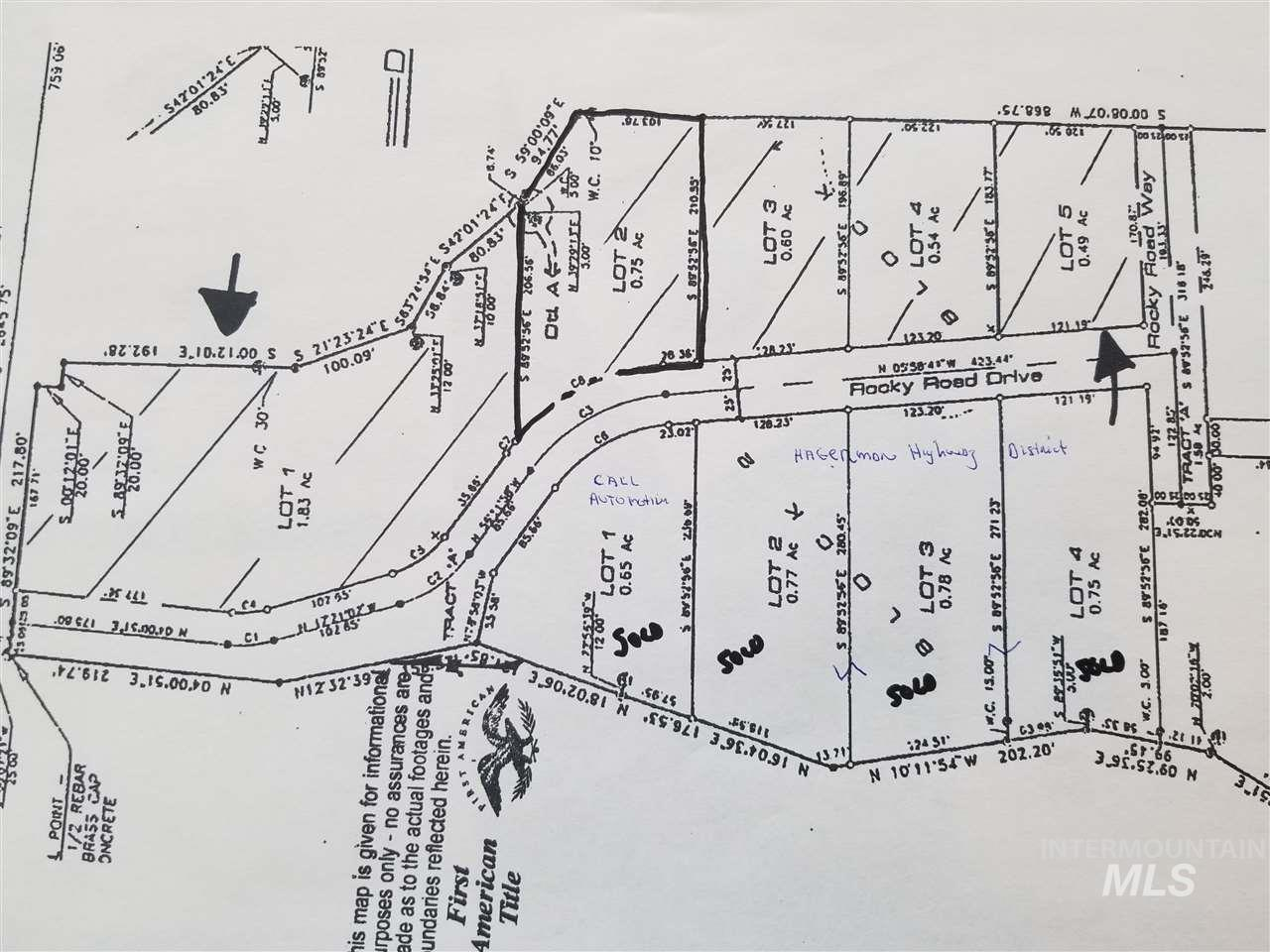 Hagerman Idaho Map.Land For Sale Price 33 000 34280 1st Place Realty