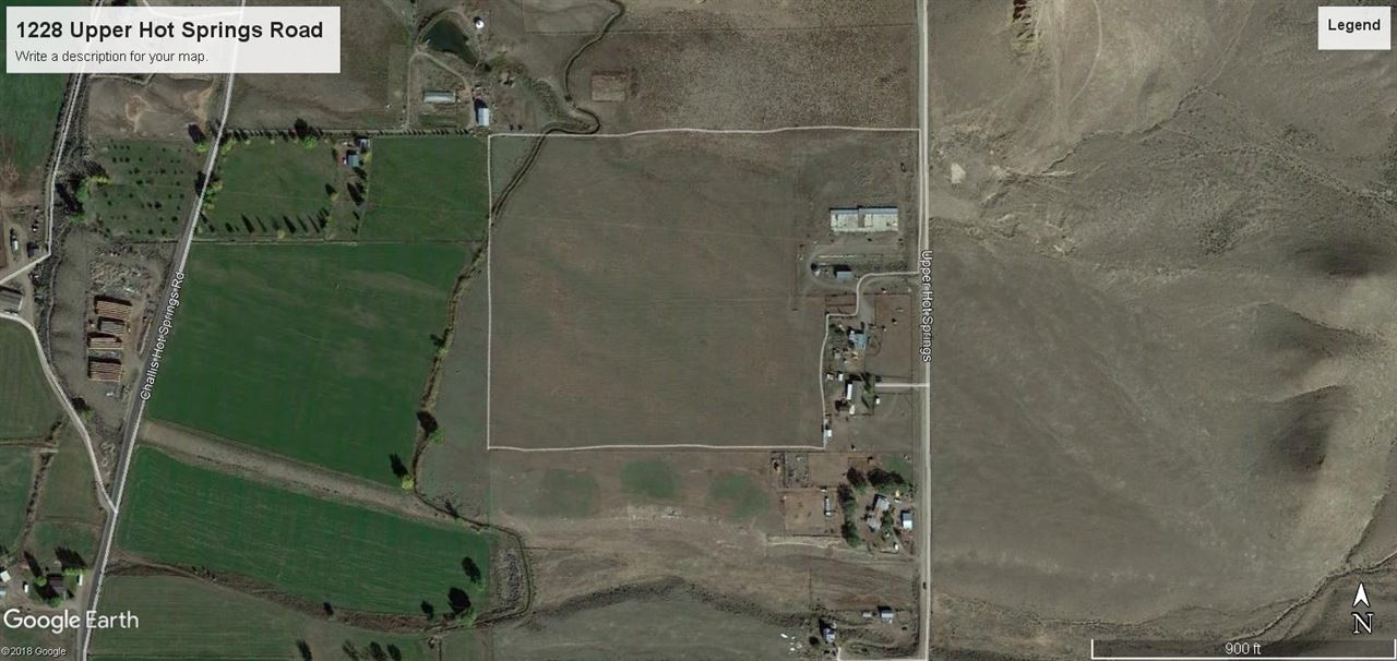Land for Sale at 1228 Upper Hot Springs Road 1228 Upper Hot Springs Road Challis, Idaho 83226