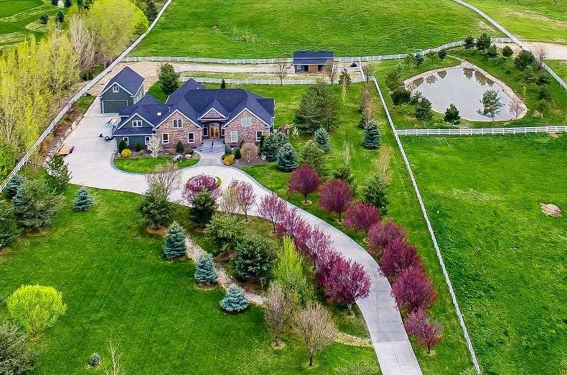 Casa Unifamiliar por un Venta en 12091 W Lanktree Gulch 12091 W Lanktree Gulch Star, Idaho 83669