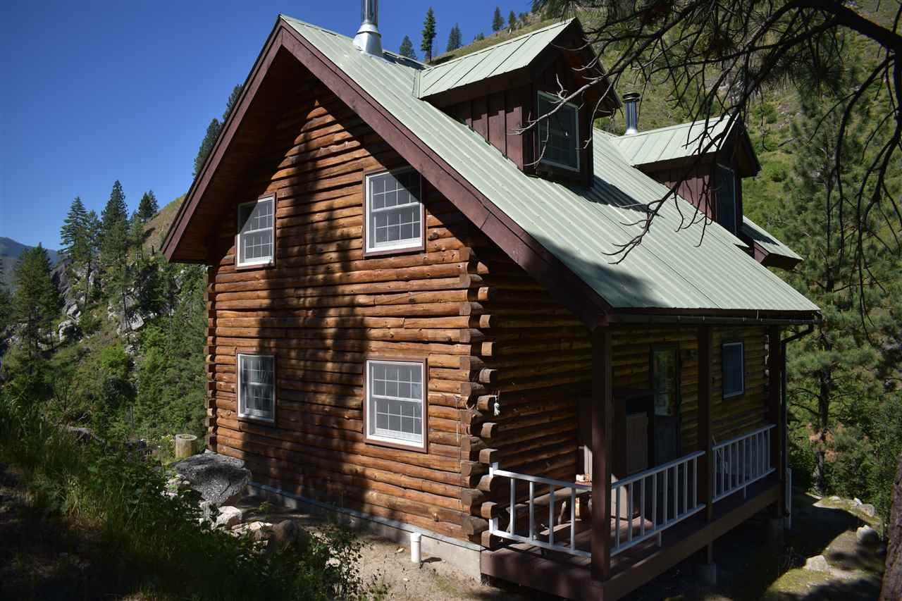 牧场 为 销售 在 Indian Creek Ranch Indian Creek Ranch Riggins, 爱达荷州 83611