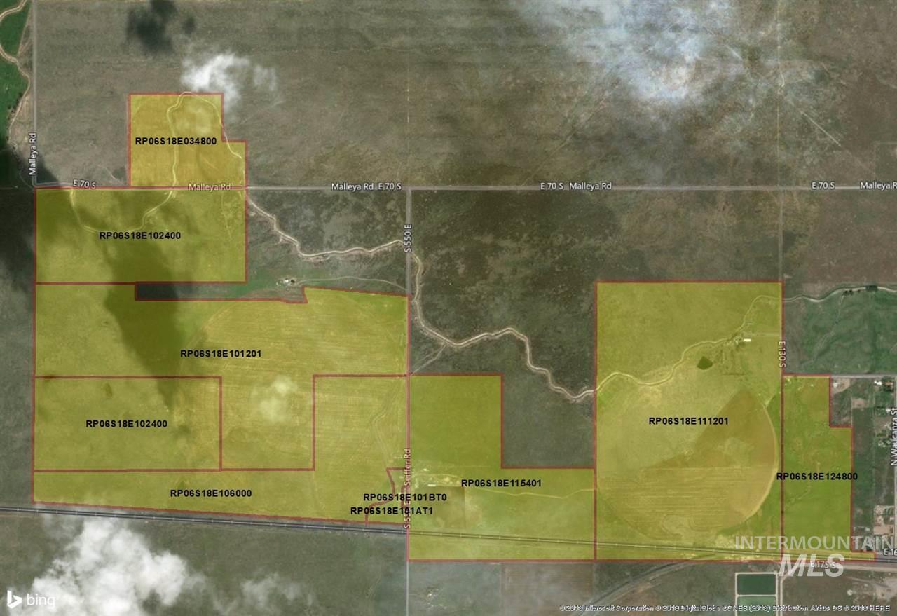 农场 为 销售 在 647 E 130 S 647 E 130 S Dietrich, 爱达荷州 83324