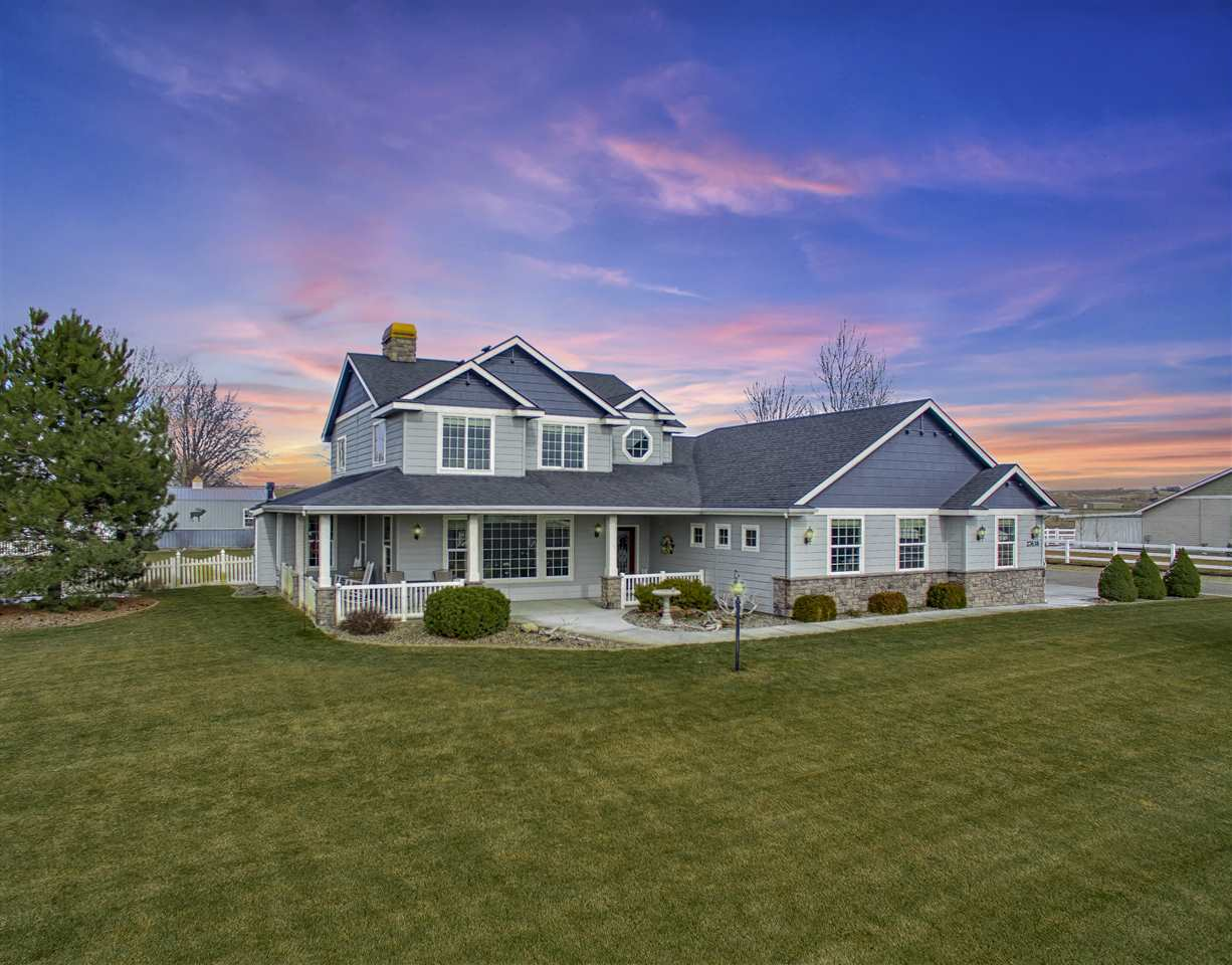 Casa Unifamiliar por un Venta en 27638 Wheat Ridge Road 27638 Wheat Ridge Road Wilder, Idaho 83676