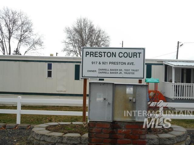 Edificio Residencial por un Venta en 915-921 Preston 915-921 Preston Lewiston, Idaho 83501