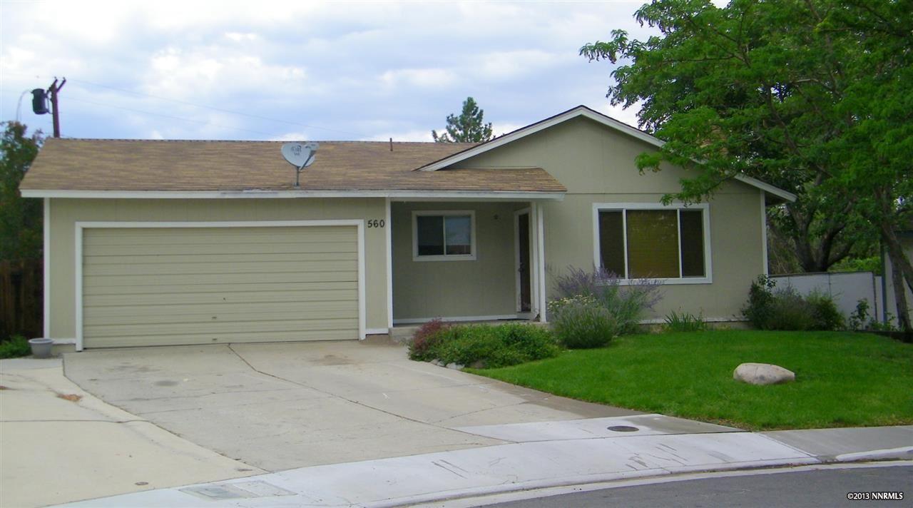 Casa Unifamiliar por un Venta en 560 Ferol Way ,Washoe 560 Ferol Way Reno, Nevada 89503 Estados Unidos