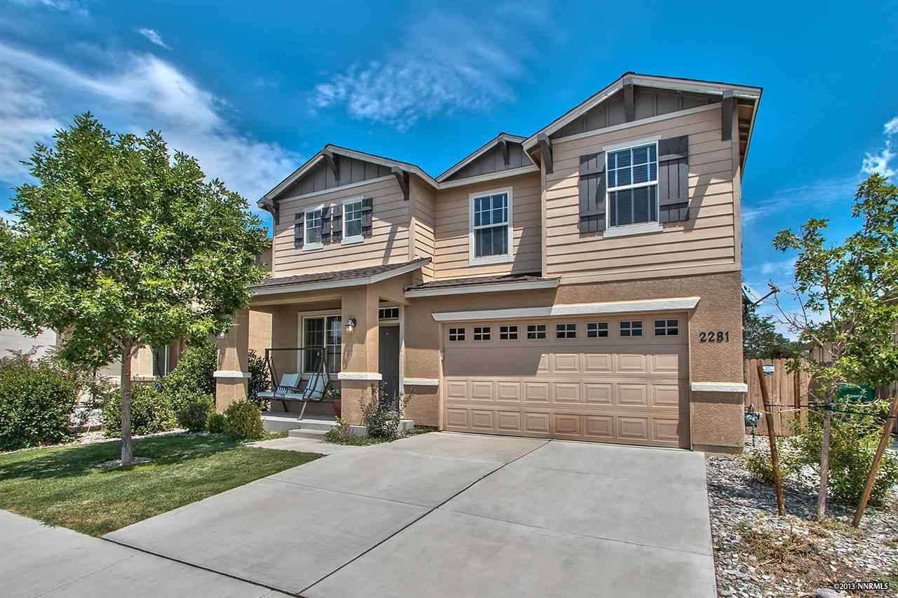 Single Family Home for Active at 2281 Big Trail Circle ,Washoe Reno, Nevada 89521 United States