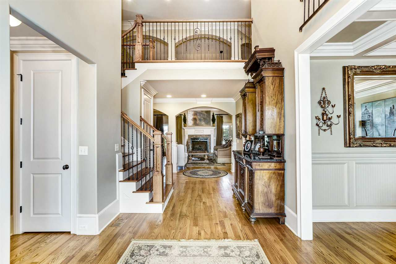 Exquisite foyer make a grand statement!