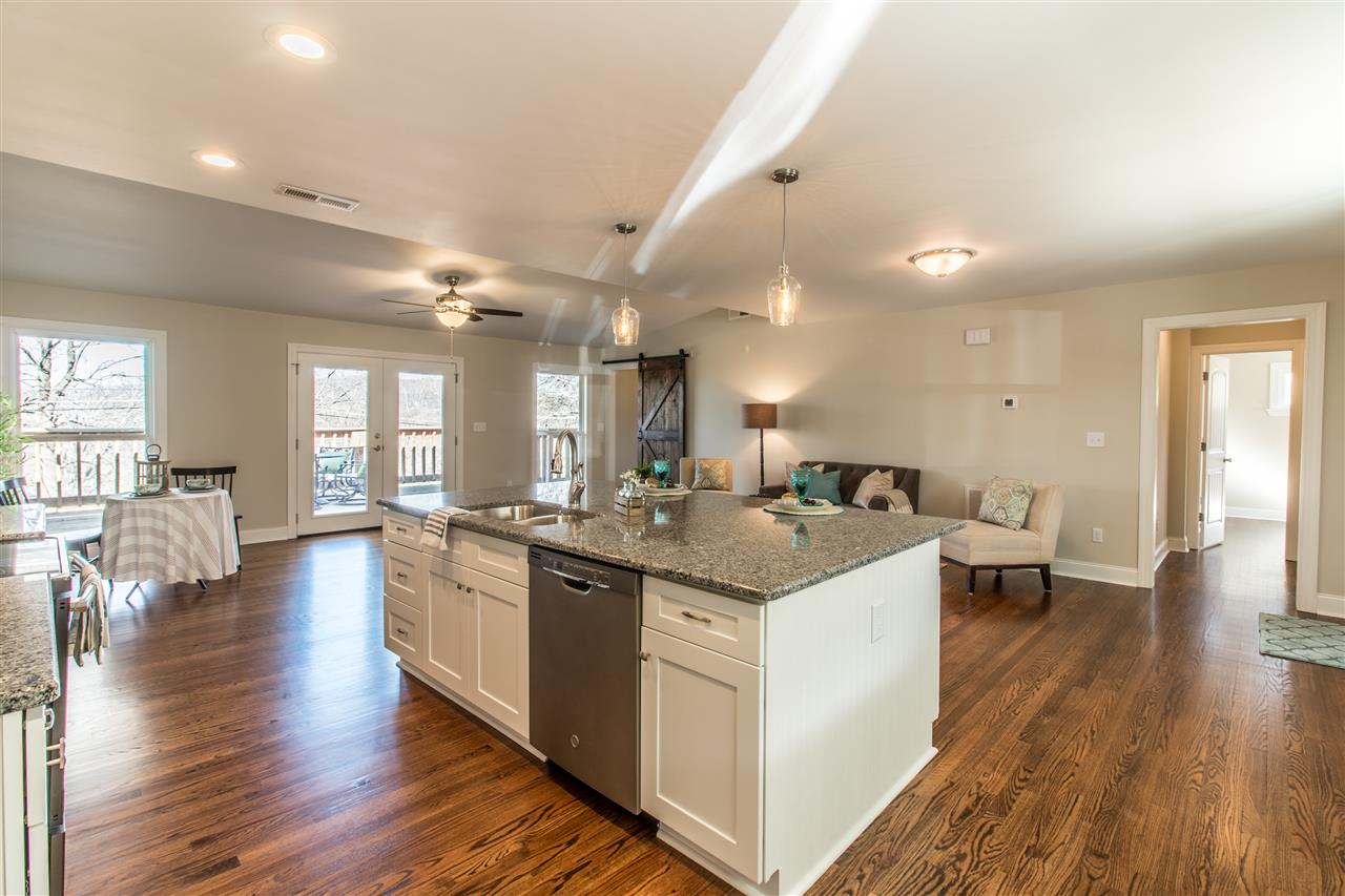 Basement rancher totally renovated, incredible transformation into a easy living floorplan with no interior finishes untouched!