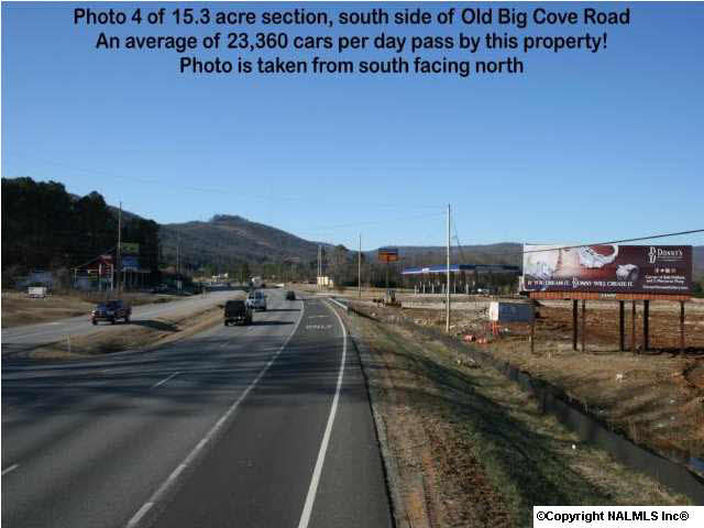 See Video in photos - About 400' US Hwy 431 frontage. Average over 23,000 cars daily pass by! Median household income is almost $98,000! Red light coming to this corner by mid-summer, 2014.